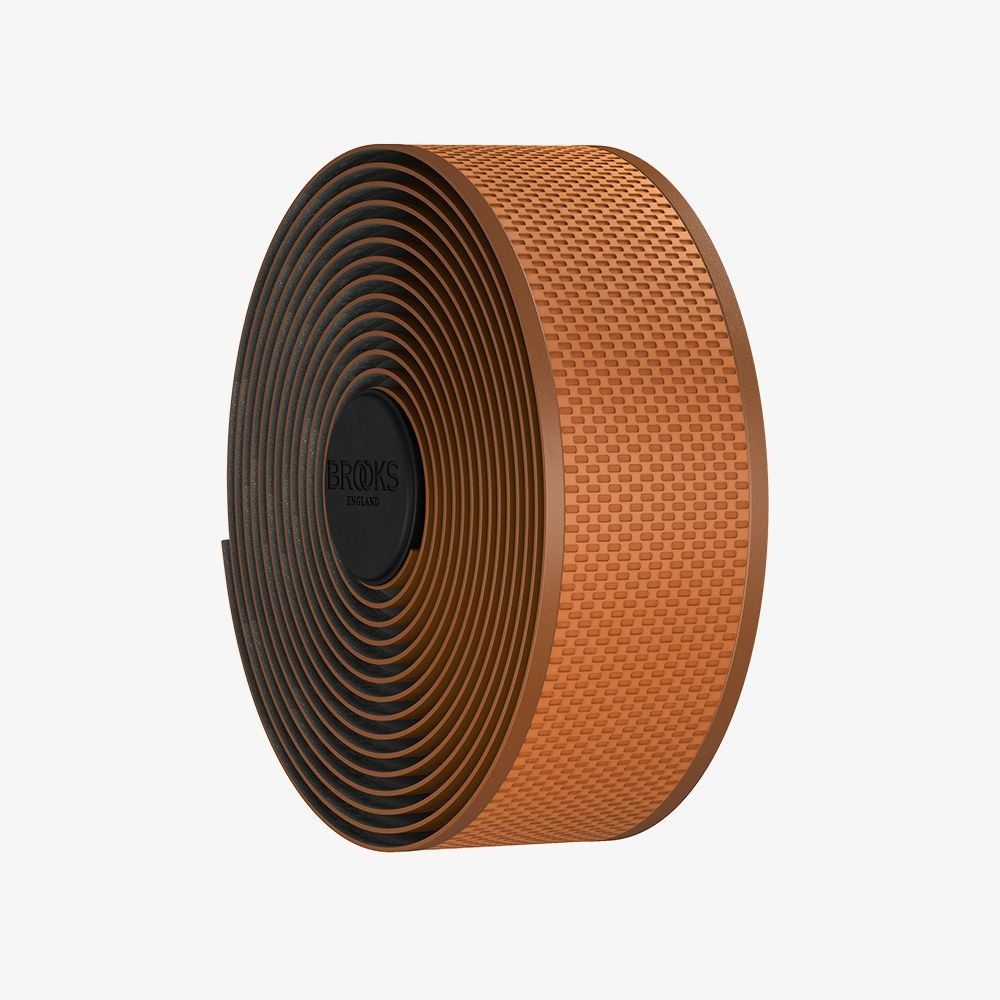 Обмотка руля Brooks Cambium Rubber коричневая за 1099900 руб.