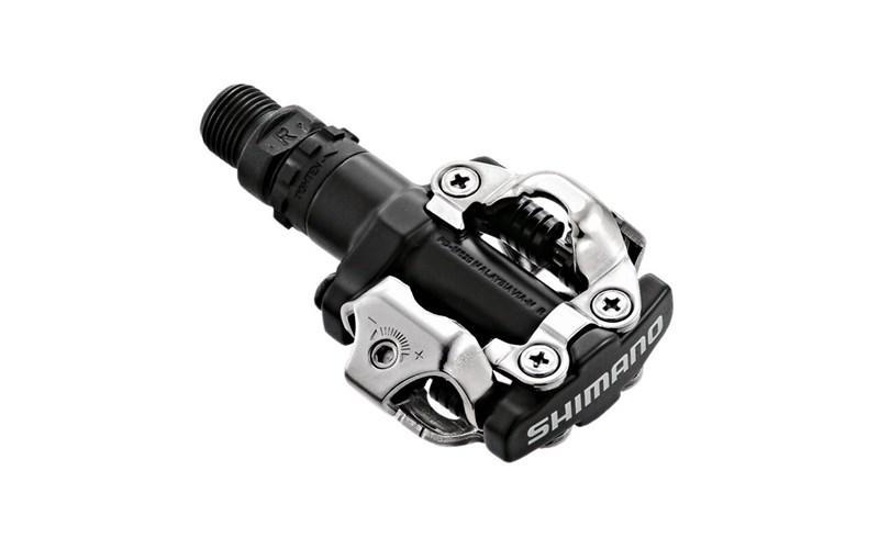 Педали контактные Shimano PD-M520, SPD чёрные за 959900 руб.