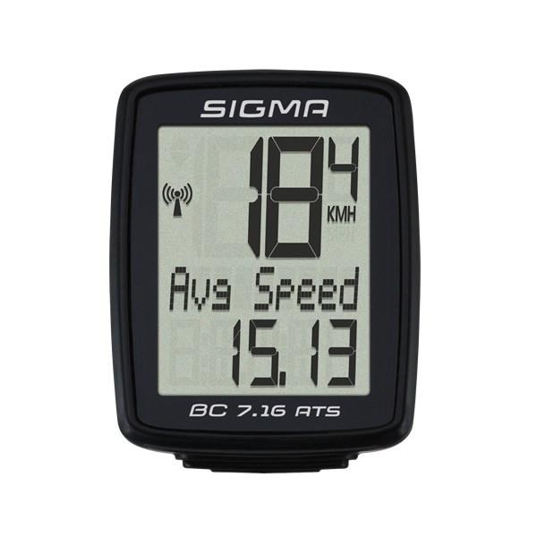 Велокомпьютер Sigma Topline BC 7.16 ATS за 799900 руб.