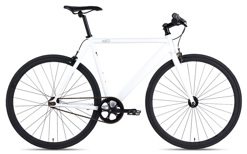 Велосипед 6KU Urban Track White (fixed gear) за 8999900 руб.