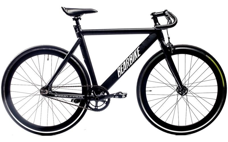 Велосипед Bear Bike Armata черный за 10350000 руб.