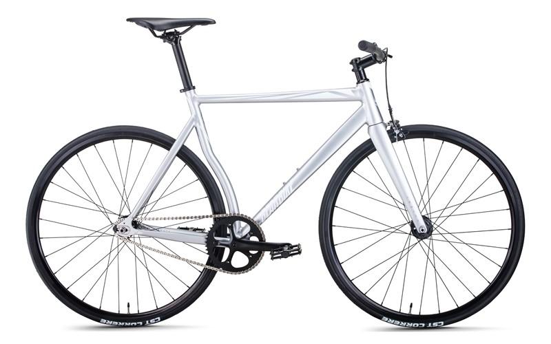 Велосипед Bear Bike Armata серебристый за 11999900 руб.