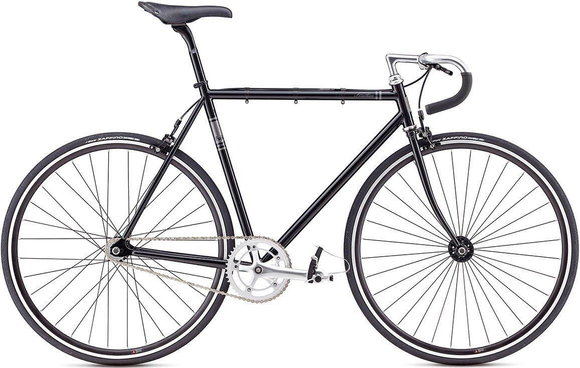 Велосипед Fuji Feather 2017 Black (fixed gear) за 10999900 руб.